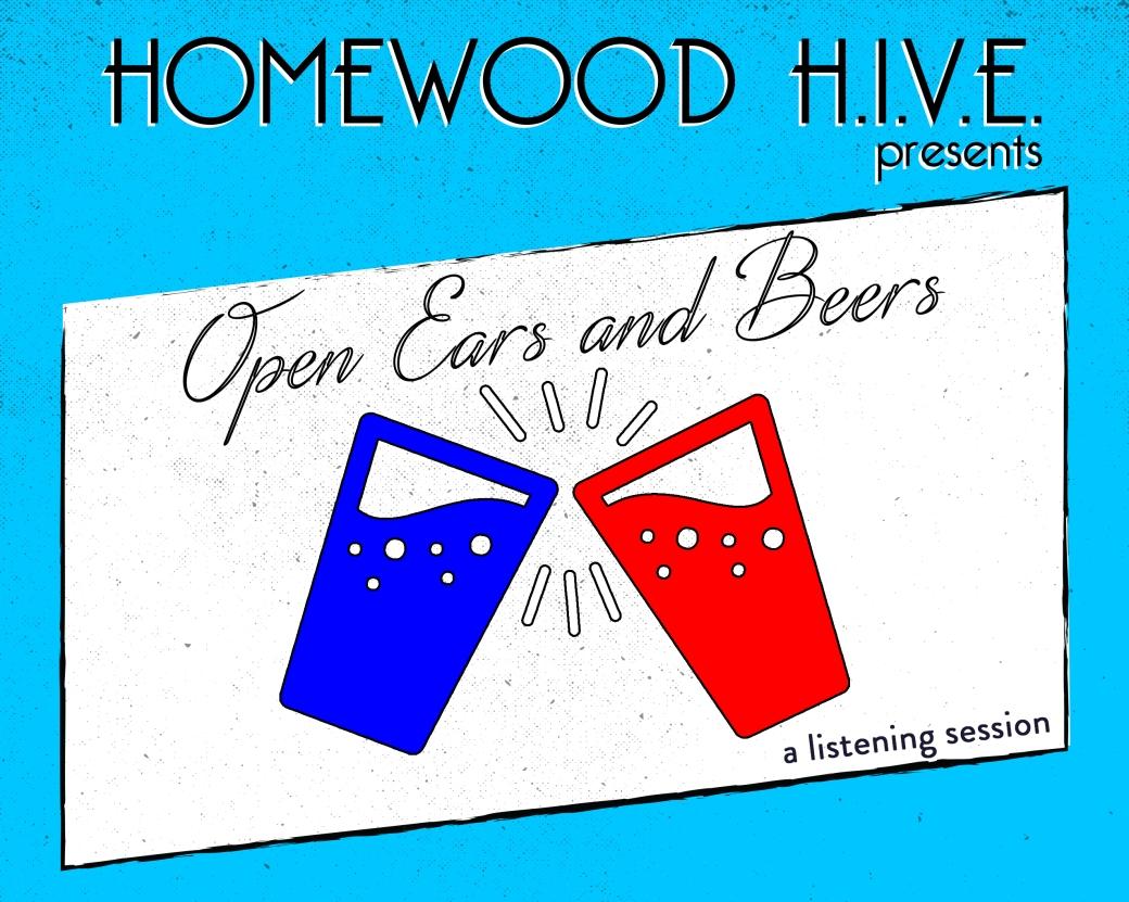 Open Ears and Beers flyer half