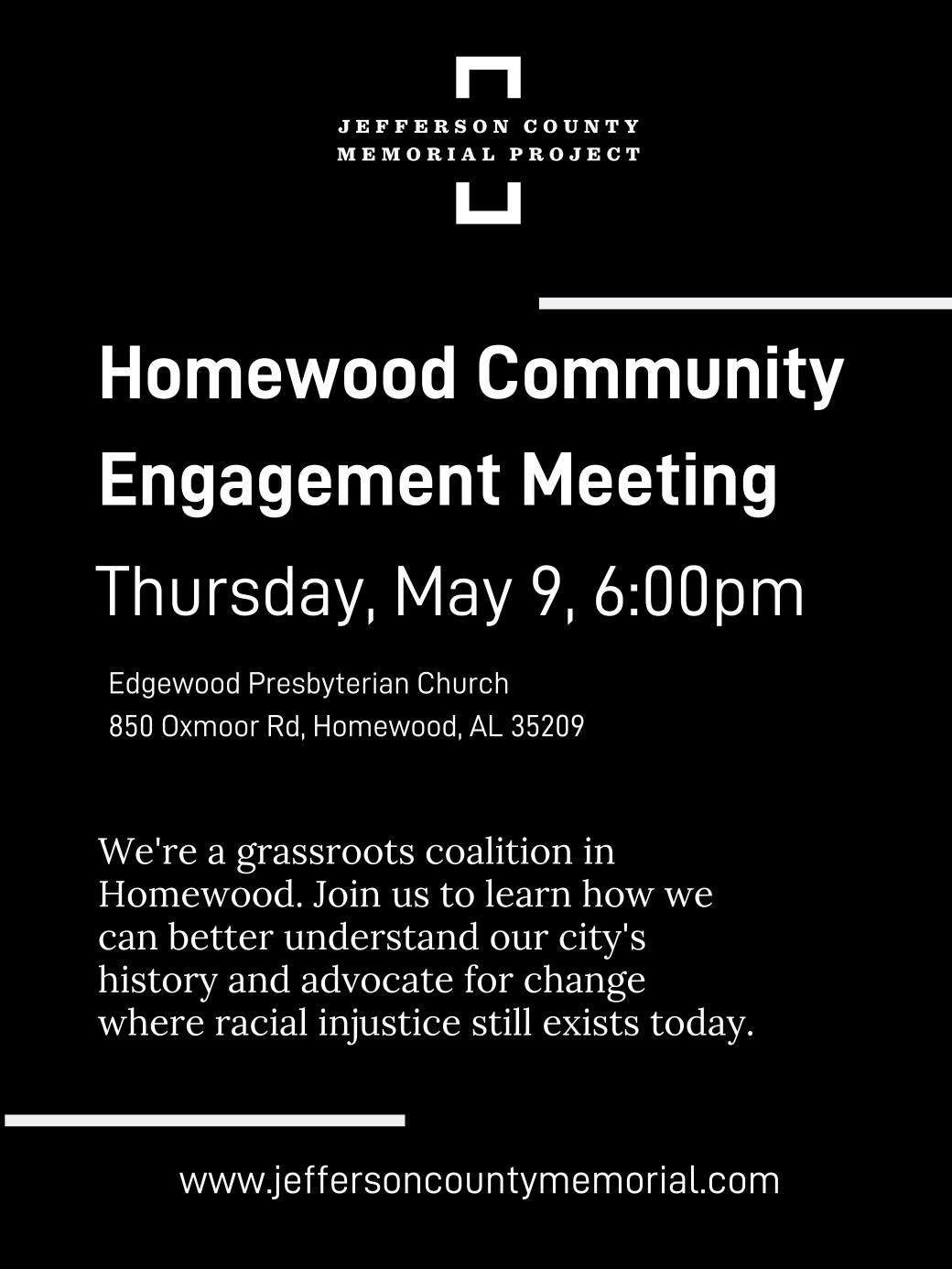 JCMP Homewood Meeting