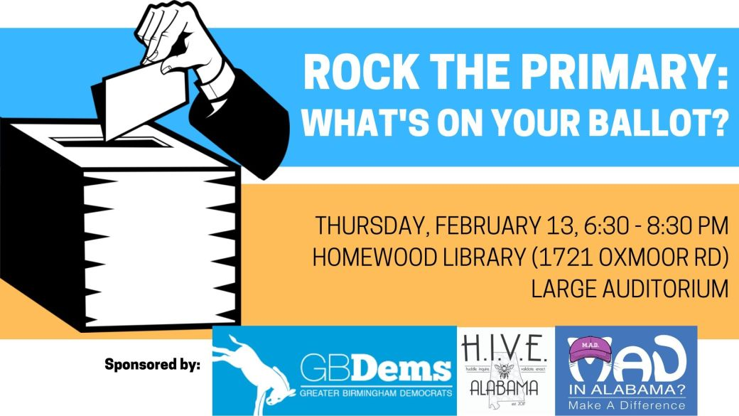 Rock the Primary_ What's on your ballot_