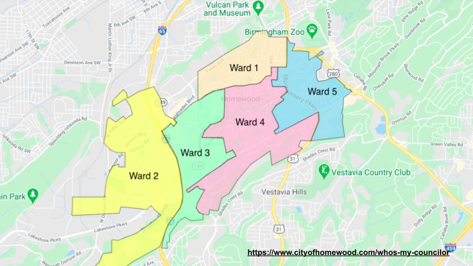 Homewood City Elections - Ward 1 (1)